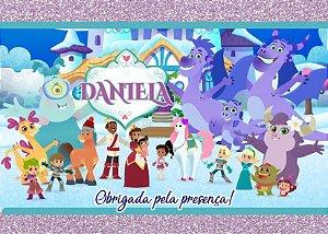 Cartão de Agradecimento Nella, uma Princesa Corajosa