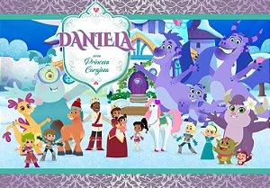 Painel TNT Nella, uma Princesa Corajosa 002