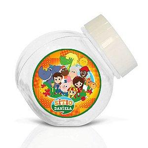 Embalagem com 40 adesivos baleirinho Sítio do Pica-Pau Amarelo