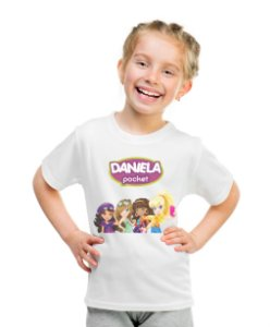 Camiseta Infantil Polly Pocket