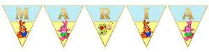 Bandeirinha Personalizada Baby TV Kenny & Goorie