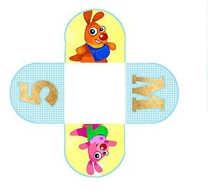 Caixeta para Doces personalizada Baby TV Kenny & Goorie