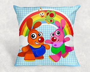 Almofada Personalizada para festa Baby TV Kenny & Goorie