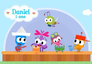 Painel TNT Baby TV Choopies