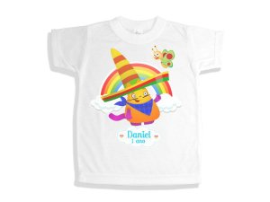 Camiseta Infantil Baby TV Hungry Henry