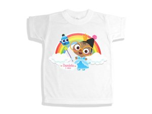 Camiseta Infantil Baby TV Mona and Scketch