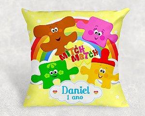 Almofada Personalizada para festa Baby TV Mitch Match 2