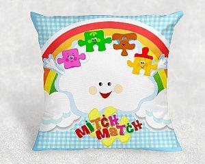 Almofada Personalizada para festa Baby TV Mitch Match 1