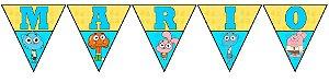 Bandeirinha Personalizada O Incrível Mundo de Gumball