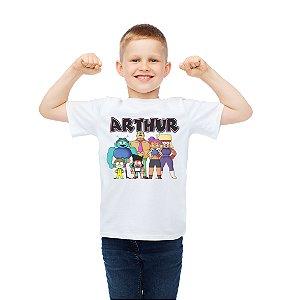 Camiseta Infantil Ok, Ko! Vamos ser Heróis