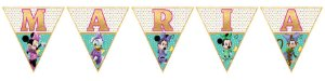 Bandeirinha Personalizada Minnie e Margarida Loja De Laços Boutique de Laços
