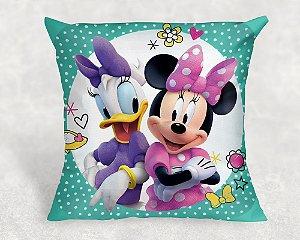 Almofada Personalizada para festa Minnie e Margarida Loja De Laços para meninas