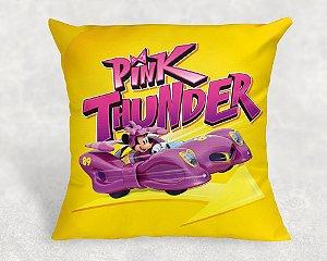 Almofada Personalizada para festa Mickey Aventura sobre Rodas para meninas