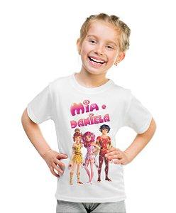 Camiseta Infantil Mundo de Mia