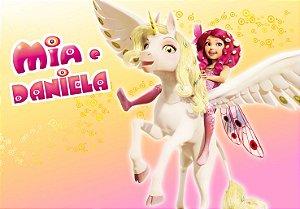 Painel TNT Princesa Mundo de Mia 2