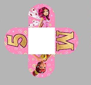 Caixeta para Doces personalizada Mundo de Mia