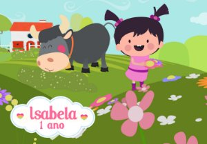 Painel TNT Baby TV Pequena Lola