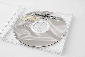 Arte para adesivo de CD personalizado para casamento