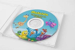 Arte para adesivo de CD personalizado Galinha Pintadinha