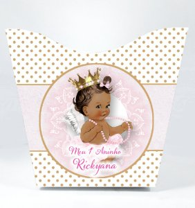 Cachepô personalizado Anjinha Princesa
