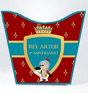 Cachepô personalizado Rei Arthur