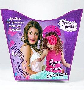 Cachepô personalizado Violetta da Disney com foto