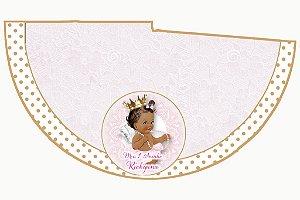 Arte para chapeuzinho personalizado Anjinha Princesa