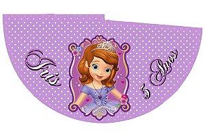 Arte para chapeuzinho personalizado Princesa Sofia