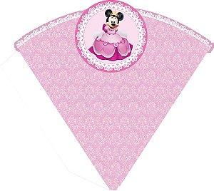 Arte para cone personalizado Princesa Minnie