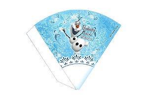 Arte para cone personalizado Frozen Olaf