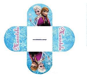 Arte para forminha personalizada para doces Frozen