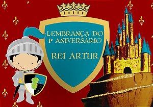 Arte para imã personalizado Rei Arthur