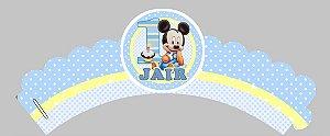 Arte para wrapper (saia) personalizado para Cupcakes Baby Disney