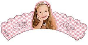 Arte para wrapper (saia) personalizado para Cupcakes  com foto