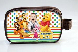 Arte para necessaire personalizada do Ursinho Pooh com foto