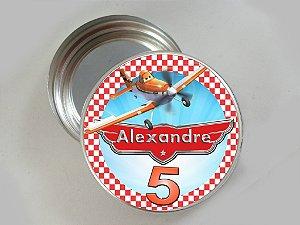 Arte para latinha de alumínio personalizada Aviões da Disney