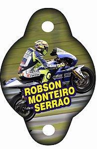 Arte para tag de canudinho personalizada Valentino Rossi