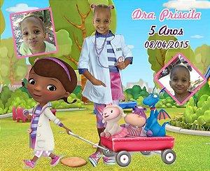 Banner ou Painel personalizado Doutora Brinquedos com foto