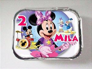 Arte para marmitinha personalizada Minnie