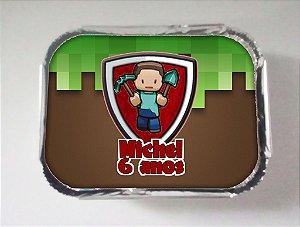 Arte para marmitinha personalizada Minecraft