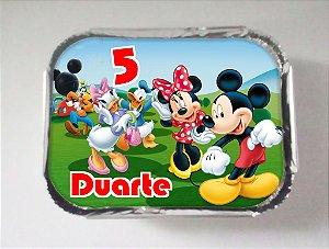 Arte para marmitinha personalizada Mickey Mouse