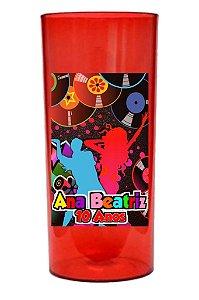 Arte para adesivo de copo personalizado Baladinha