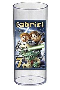 Arte para adesivo de copo personalizado Lego Star Wars