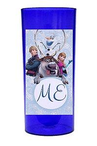 Arte para adesivo de copo personalizado Frozen