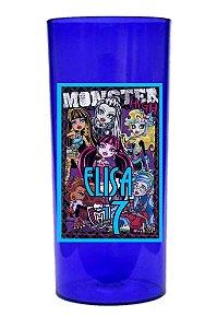 Arte para adesivo de copo personalizado Monster High para meninos