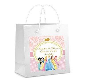 Arte para adesivo de sacola Sacola Princesas Disney