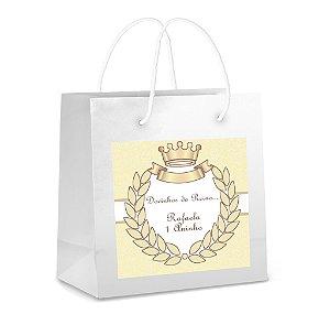 Arte para adesivo de sacola Princesa para meninos