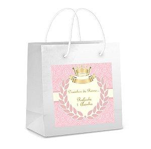 Arte para adesivo de sacola Princesa para meninas