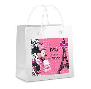 Arte para adesivo de sacola Minnie em Paris