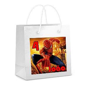 Adesivo para sacola Homem Aranha